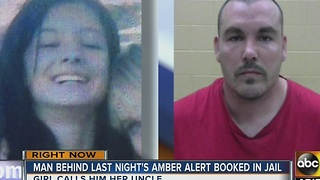 Man who triggered Amber Alert booked into New Mexico jail - Video
