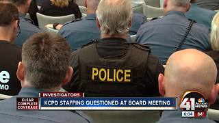 Consultant presents staffing study to KCPD board - Video