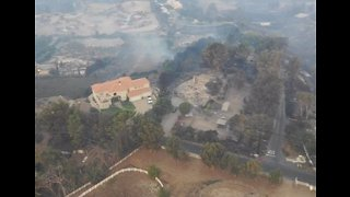 Drone Footage Shows Devastation Caused by Woolsey Fire in Malibu - Video