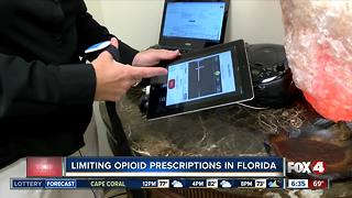 Proposed legislation in Florida would limit opioid prescriptions in the state - Video