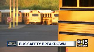 Getting to the bottom of Arizona school bus safety - Video
