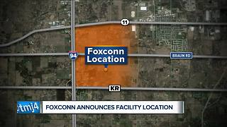 Foxconn choses site in Mount Pleasant - Video