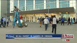 Demand high in Omaha for Sweet 16, Elite 8 games. - Video