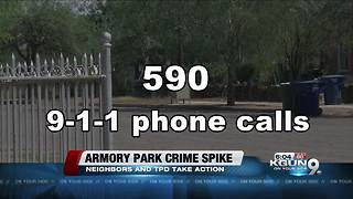 Armory Park neighborhood and TPD take action amid crime spike