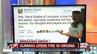 Trump, McCarthy, and Valadao Response to Virginia Shooting - Video