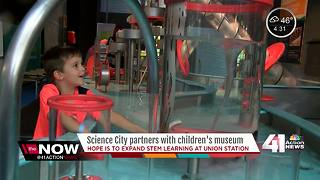 Science City partners with children's museum - Video