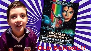 Michael Jackson Moonwalker with Young Gamer