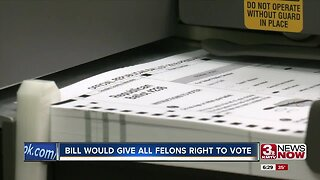 Bill would give all felons right to vote