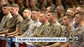 Trump's plan on Afghanistan war is to increase American presence - Video
