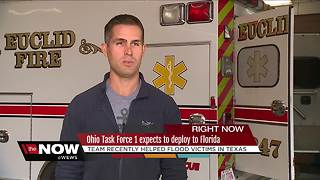 Ohio Task Force 1 Back Home From Harvey, Preparing for Possible Deployment to Florida - Video