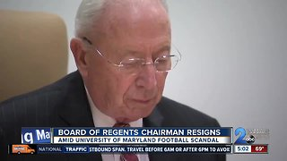 University System of Maryland Board of Regents Chair James Brady has resigned