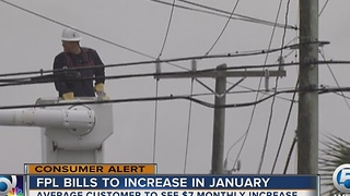 FPL bills to increase in January - Video