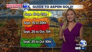 Fall-like weather for Sunday - Video