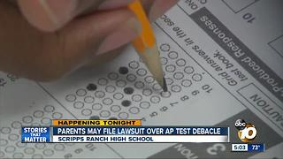 Parents may file lawsuit over AP test debacle - Video