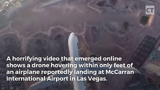Video Shows Drone Capable of Dive-Bombing a Passenger Jet - Video