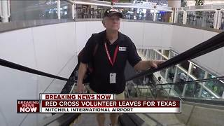 Wisconsin Red Cross Volunteer heads to Texas - Video