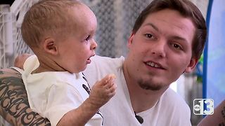 Salve of salvation: Cannabis oil cream gives new hope to Baby Carter - Video