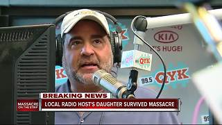 VEGAS SHOOTING | 99.5 QYK Cadillac Jack's daughter survived the Vegas concert shooting - Video