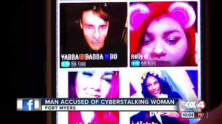 Woman says she's being harassed by cyberstalker - Video