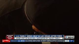 CA family with ties to Las Vegas loses home, business to wildfire - Video