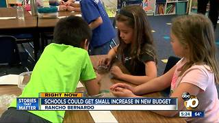 Schools could get small increase in new budget - Video