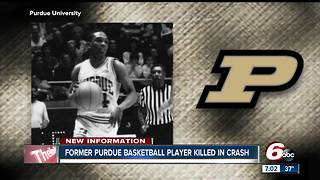 Former Purdue basketball player killed in chain-reaction crash involving three semis on I-65 - Video
