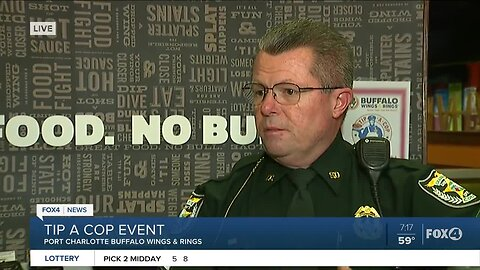 Charlotte Co. Sheriff's Office Tip a Cop event