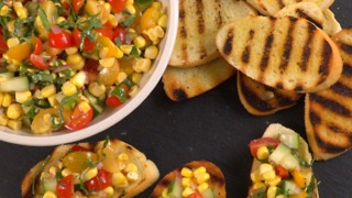 Corn And Tomato Relish - Video