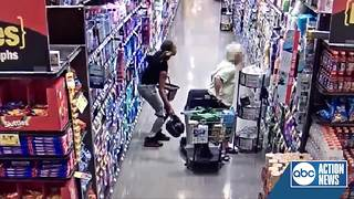 Video shows purse snatching from elderly woman in scooter - Video