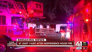 Multiple people displaced after Independence house fire
