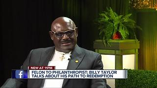 Billy Taylor talks about path to redemption - Video