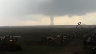 Possible Tornado Seen Near Dodge City, Kansas - Video
