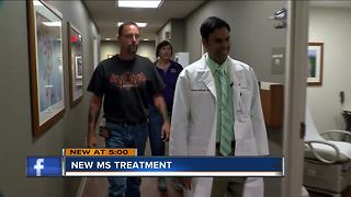 Local man hopes new multiple sclerosis drug gives him his life back - Video