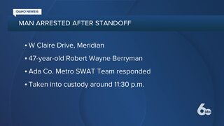 Police: Meridian man arrested after standoff