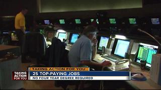 Top paying jobs that don't require a 4 year degree - Video