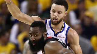Steph Curry Reacts To James Harden Joining KD & Kyrie On Nets To Build Eastern Conference Super Team