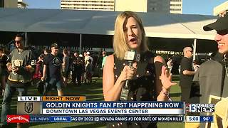 Golden Knights Fan Fest takes over Downtown