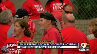 Final farewell to old Deaconess Hospital - Video