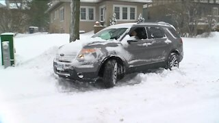 Cleanup still underway after weekend winter storm