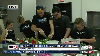 Cafe YOU holds kids chef summer camp program