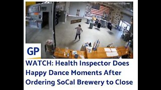 Health Inspector Dances After Shutting Down Business