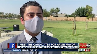 Meeting Arvin's two mayoral candidates