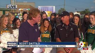 WCPO  Game of the Week: Hear Sycamore coach Scott  Datillo - Video