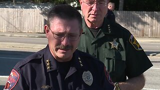 Press conference: Lakeland Police Officer killed in motorcycle crash, sheriff's office investigating