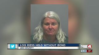 Lois Riess Held Without Bond - Video