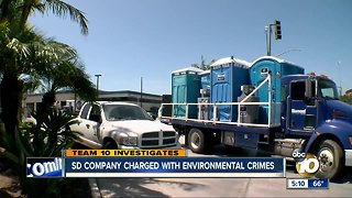 San Diego company charged with environmental crimes