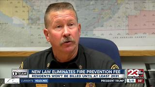 New law suspends the Fire Prevention Fee, what does that mean for Kern County residents? - Video