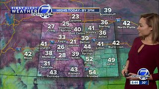 Colder Saturday across Colorado - Video