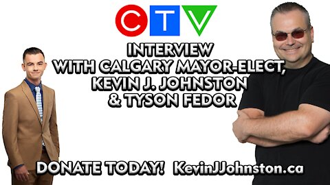 The Kevin J. Johnston Show Special Guest Chris Sky and Artur Pawlowski