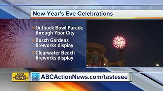 New Year's Eve Celebrations - Video
